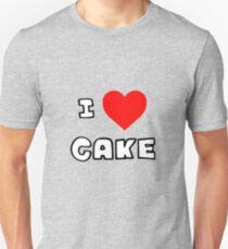 I Heart Cake Unisex T-Shirt
