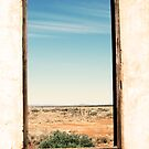 Through the window - South Australia ruins. by Jenny Dean