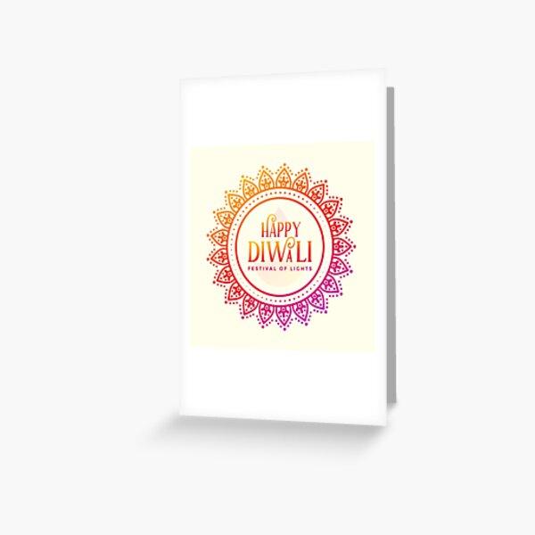 Happy Diwali 2 Greeting Card