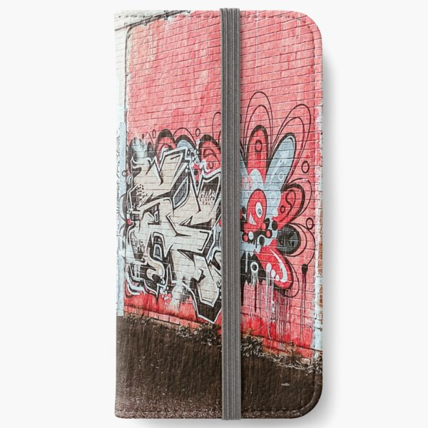 Welcome to Paradise, Graffiti, Stunning Image iPhone Wallet