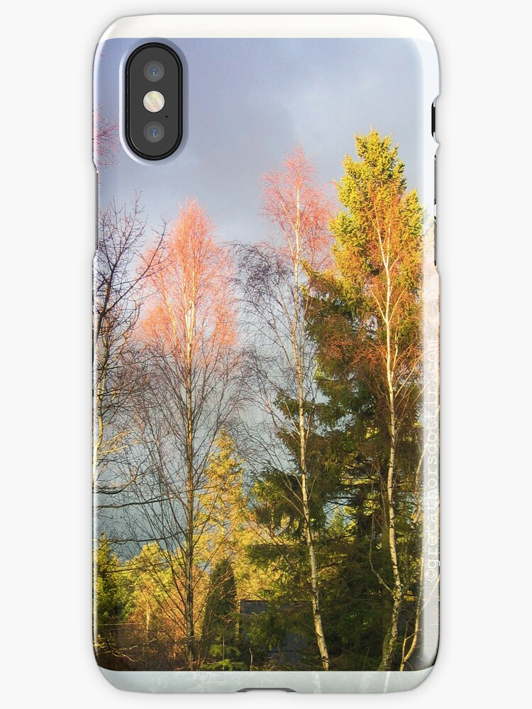 Autumn Cathedral, iPhone case by Gréta Thórsdóttir