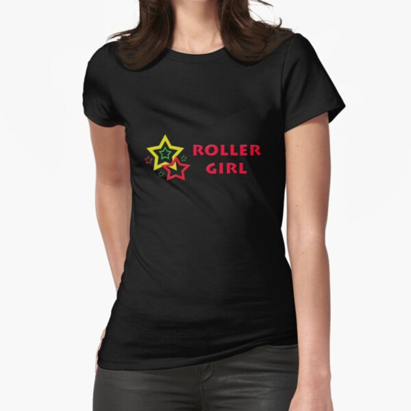 Roller Girl Fitted T-Shirt