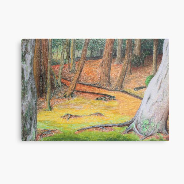 enchanted trees Metal Print