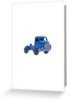 Blue Toy Truck by Benjamin Liew