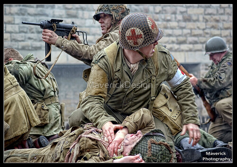 Under Pressure - World War Two Reenactment by MaverickDesign