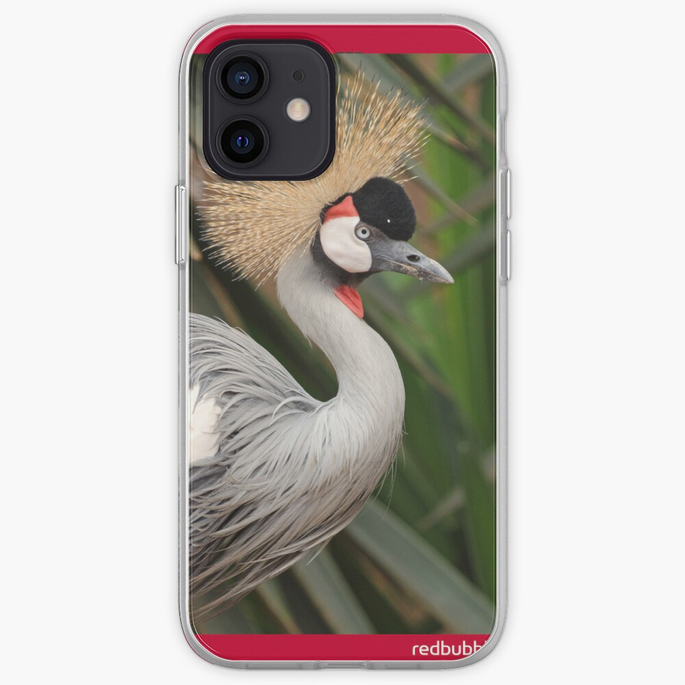 Grey Crested Crane iPhone cover iPhone Case & Cover