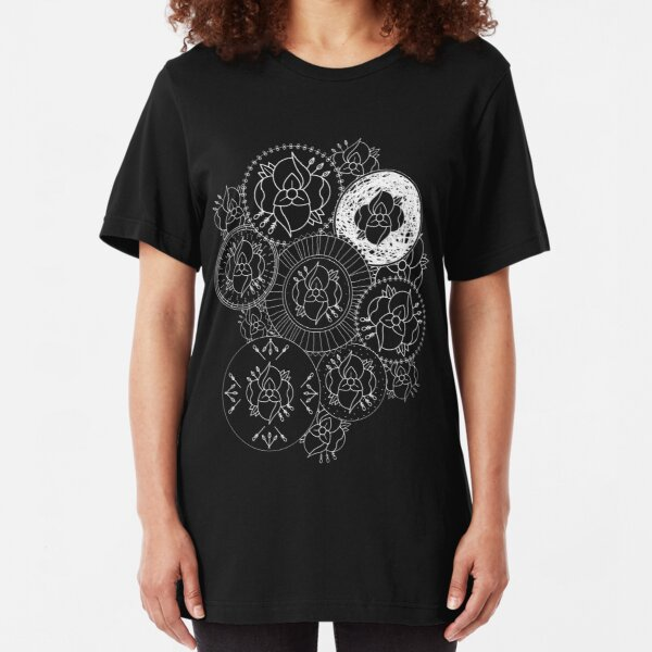 La Dispute Mandala Slim Fit T-Shirt