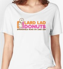 Lard Lad Donuts Women's Relaxed Fit T-Shirt