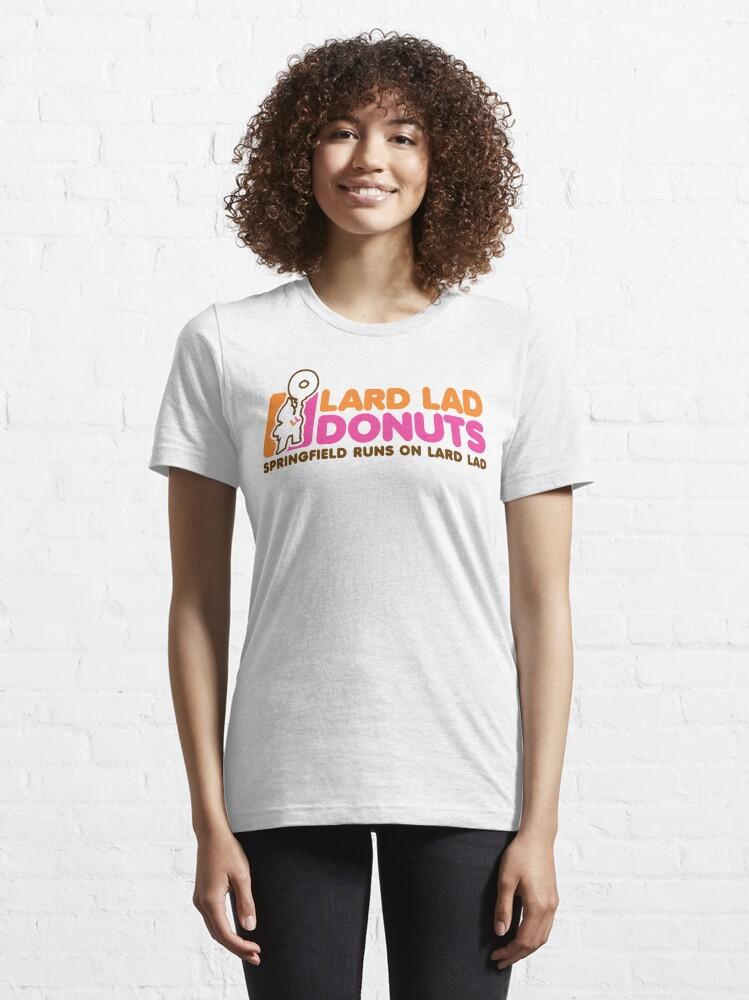 Alternate view of Lard Lad Donuts Essential T-Shirt