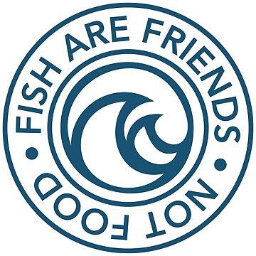 VDW Fish are Friends by VeganDisneyWorl