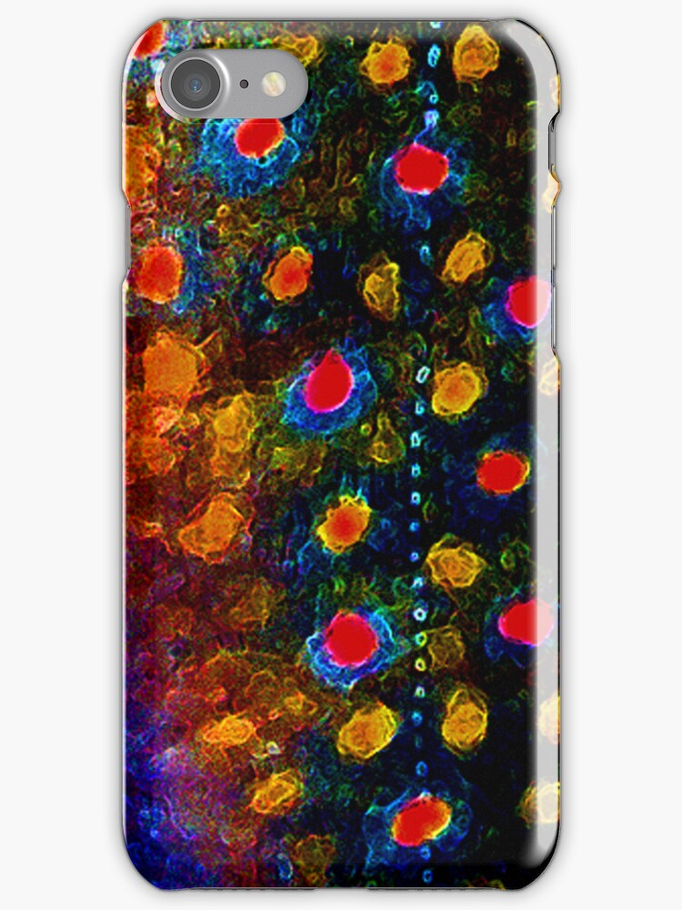 Beautiful Skin, Brook Trout iPhone Case by James Lady