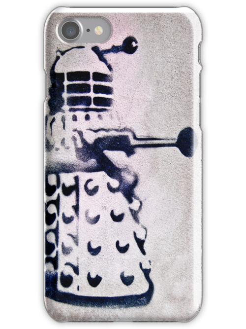 Dalek iPhone Case by eyeshoot