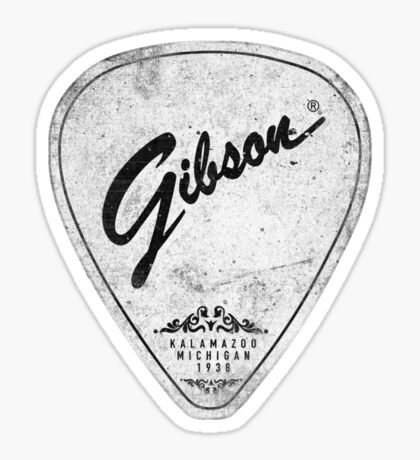 Legendary Guitar Pick Mashup Version 01 Sticker