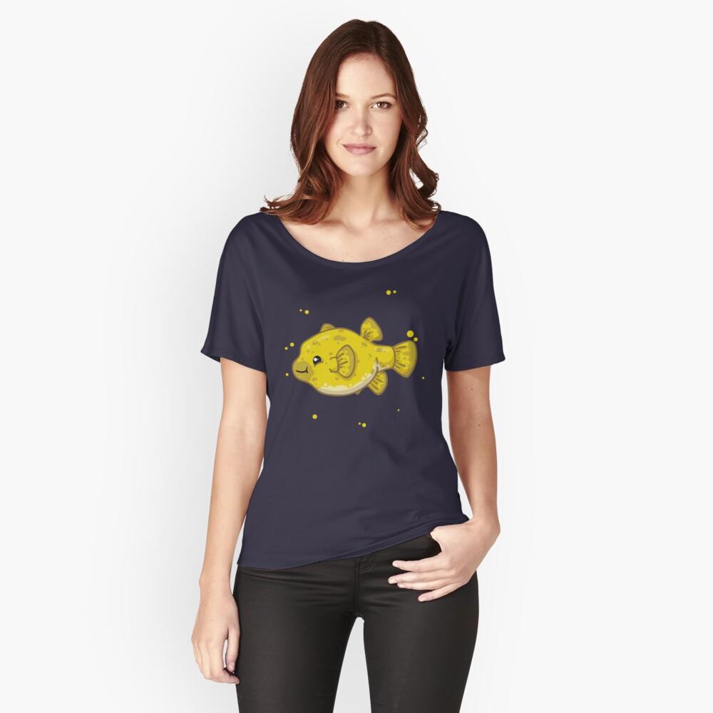 Dog-Faced Puffer (Huevember 2018) Relaxed Fit T-Shirt