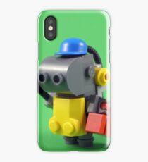 lego robot - colour iPhone Case/Skin