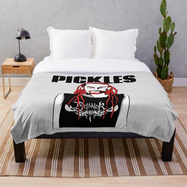 Pickles the drummer DETHKLOK Throw Blanket