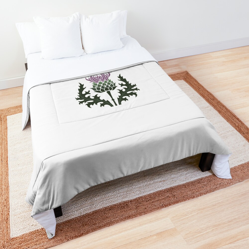 Scottish Thistle Flower of Scotland Comforter