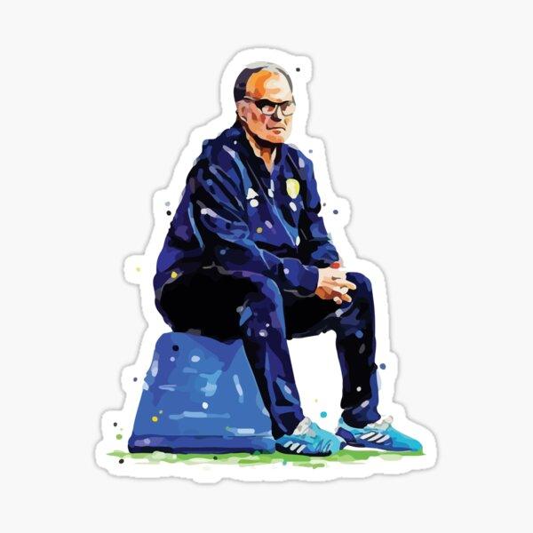 Marcelo Bielsa Bucket Sticker