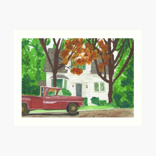 Bella Swan's House Twilight Art Print