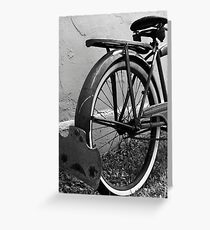 """Supreme"" Vintage Bicycle Greeting Card"