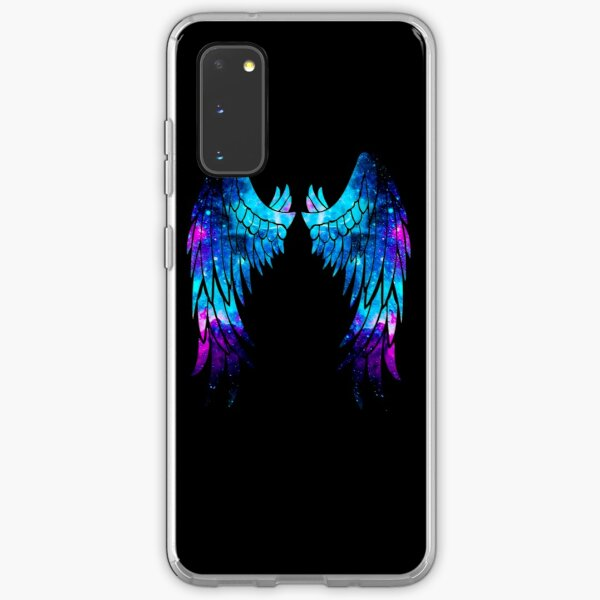 Eagle Galaxy wings of sparkling dreams Samsung Galaxy Soft Case
