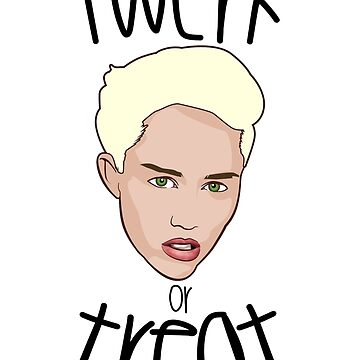Miley Cyrus Twerk or Treat by gazwefc