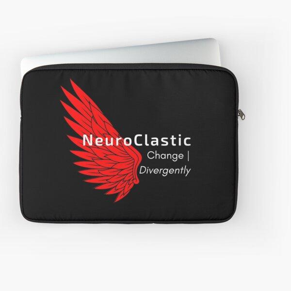 NeuroClastic Logo Laptop Sleeve
