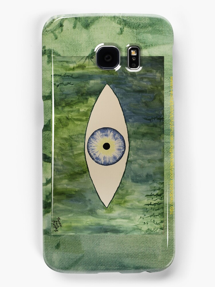 Sea Monster Eye     (full image of painting) by Thomas Murphy