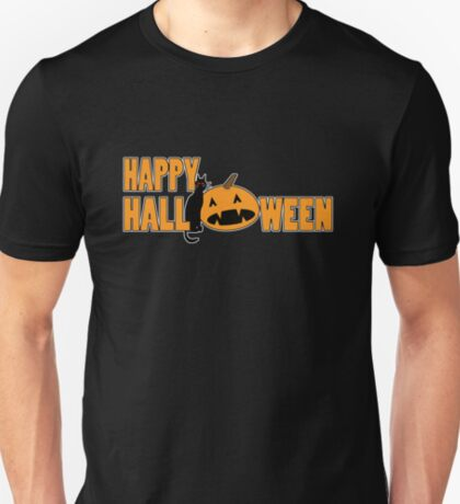 happy halloween t T-Shirt