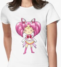 CHIBI MOON Womens Fitted T-Shirt