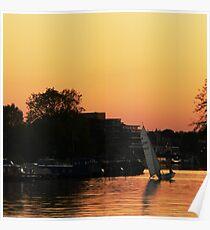 Kingston Sunset 10 Poster