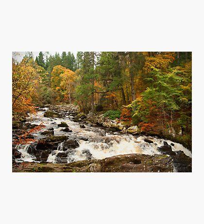 River Brann,Dunkeld,Perthshire,Scotland Photographic Print
