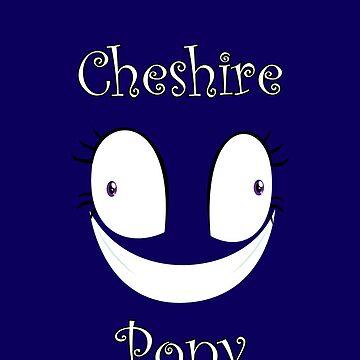 Cheshire Pony with text by Kuzcorish