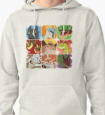 .::Noteable Dragons::. Pullover Hoodie