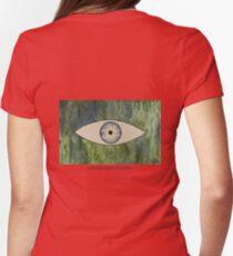 Sea Monster Eye   (t-shirt) Womens Fitted T-Shirt