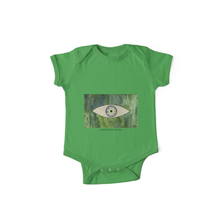 Sea Monster Eye   (t-shirt) by Thomas Murphy