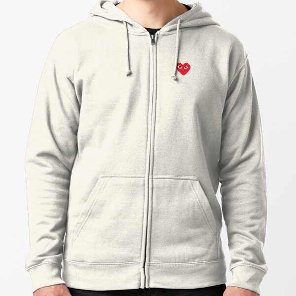Official CDG  Zipped Hoodie