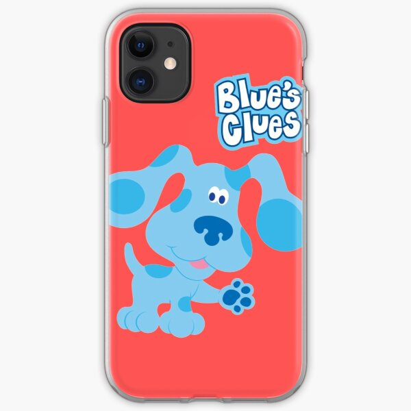blues clues iPhone Soft Case