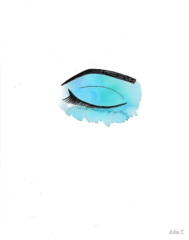 Watercolor Eye by Cindy Chmielowiec