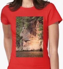 The Great Thinker Womens Fitted T-Shirt