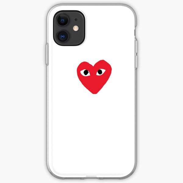 Official CDG  iPhone Soft Case