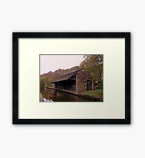 Uppermill Canal Framed Print