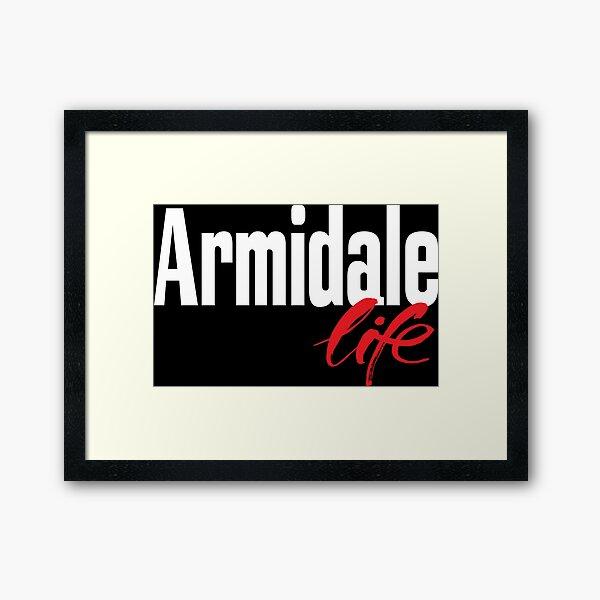 Armidale Life New South Wales Australia Raised Me Framed Art Print