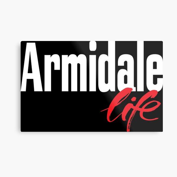 Armidale Life New South Wales Australia Raised Me Metal Print