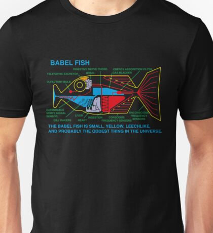 Babel Fish Unisex T-Shirt