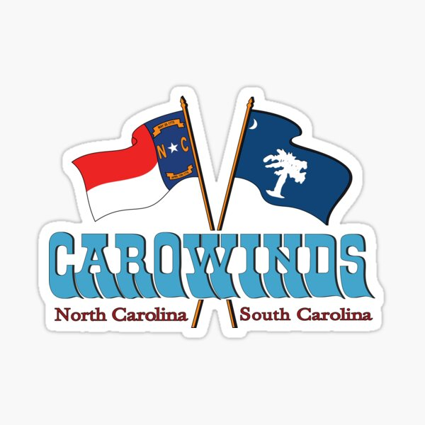 Carowinds Logo Sticker