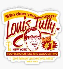 Louis Tully Accounting Sticker