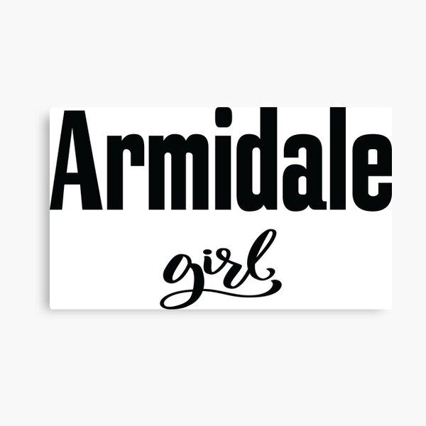 Armidale Girl New South Wales Australia Raised Me Canvas Print