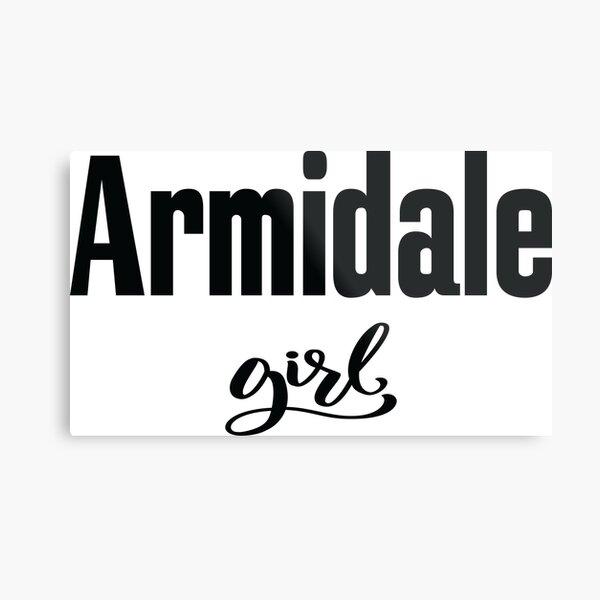 Armidale Girl New South Wales Australia Raised Me Metal Print