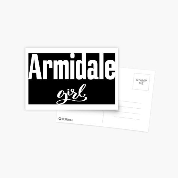 Armidale Girl New South Wales Australia Raised Me Postcard